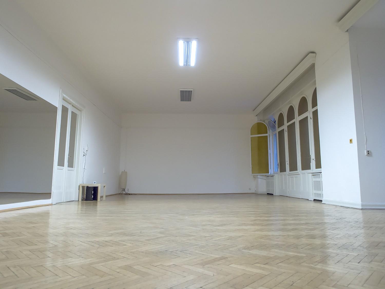 Velký sál, ihned k dispozici, 80 m2.